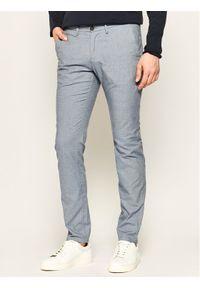 Baldessarini Spodnie materiałowe Jorck 16836/000/2297 Niebieski Slim Fit. Kolor: niebieski. Materiał: elastan, bawełna, materiał #1