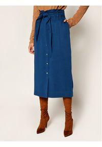 Niebieska spódnica Calvin Klein