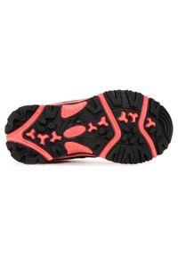 Szare buty zimowe Elbrus z cholewką, na spacer