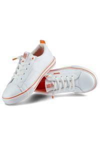 Big-Star - Trampki BIG STAR HH374036 Biały/Pomarańczowy. Kolor: biały, wielokolorowy, pomarańczowy #5