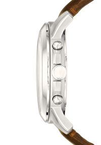 Brązowy zegarek Fossil cyfrowy