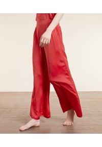 Agrume Satynowe Spodnie Od Piżamy - S - Różowy - Etam. Kolor: różowy. Materiał: satyna
