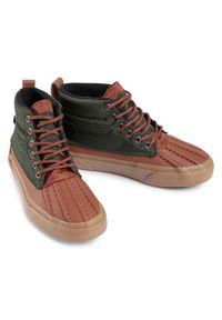 Zielone sneakersy Vans Vans SK8