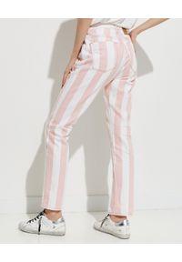 ONETEASPOON - EDYCJA LIMITOWANA OneTeaspoon x Moliera 2 - Spodnie w pasy Awesome Baggies. Stan: podwyższony. Kolor: biały. Materiał: bawełna. Wzór: aplikacja #5
