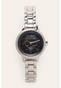 Srebrny zegarek Karl Lagerfeld