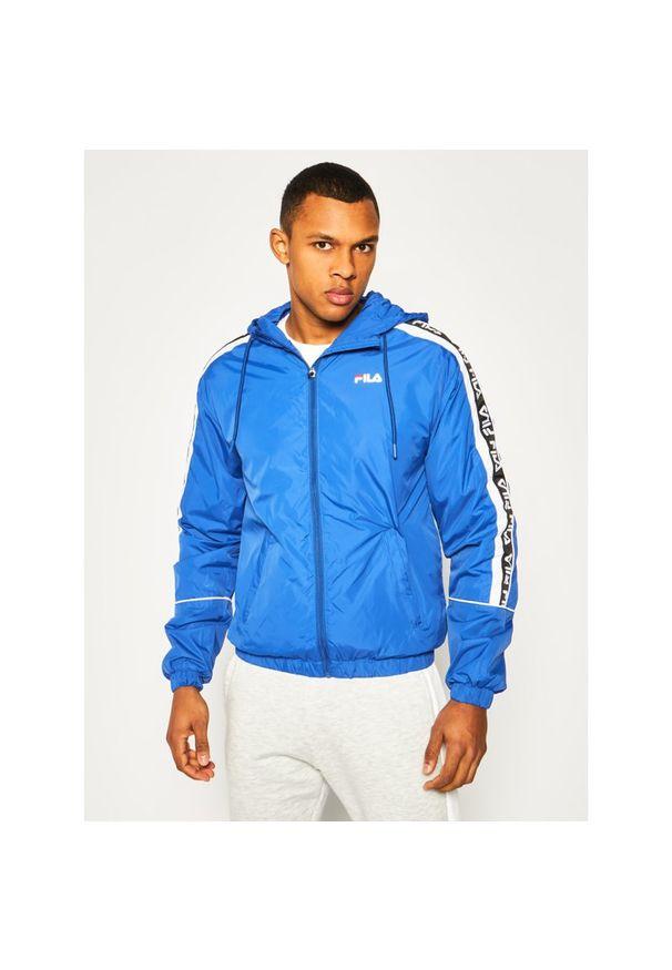 Niebieska kurtka Fila