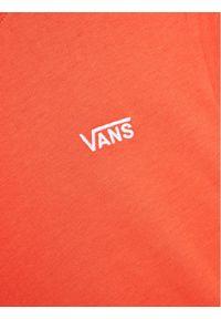 Vans T-Shirt Junior V Boxy VN0A4MFL Pomarańczowy Regular Fit. Kolor: pomarańczowy
