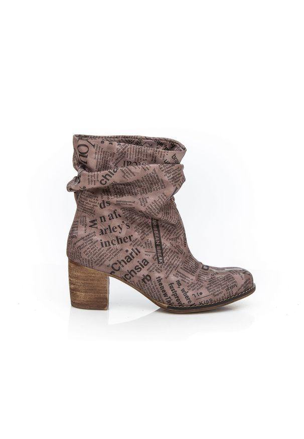 Botki Zapato eleganckie, wąskie
