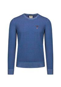 Aeronautica Militare - Sweter AERONAUTICA MILITARE. Materiał: wiskoza, prążkowany, bawełna. Wzór: haft. Styl: klasyczny