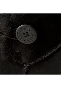 Czarne kozaki Ugg na zimę