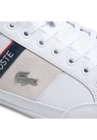 Lacoste Sneakersy Chaymon 0721 2 Cma 7-41CMA0048042 Biały. Kolor: biały