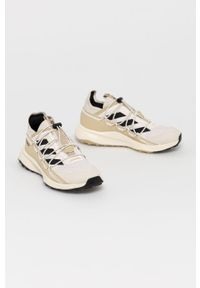 Buty trekkingowe adidas Performance na sznurówki, z cholewką, z okrągłym noskiem