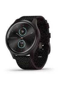 GARMIN - Smartwatch Garmin Vivomove Style grafitowy. Rodzaj zegarka: smartwatch. Kolor: szary. Materiał: nylon. Styl: klasyczny, elegancki