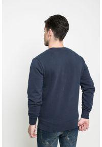 Niebieska bluza nierozpinana Ellesse casualowa, na co dzień, bez kaptura