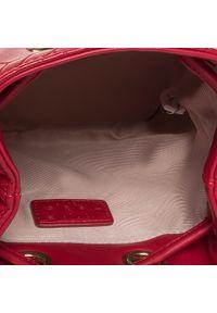 Czerwona torebka worek Liu Jo klasyczna