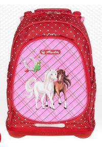 Herlitz Plecak Bliss Horses czerwono-różowy (238539). Kolor: czerwony, różowy, wielokolorowy
