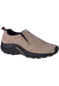 Beżowe sneakersy Merrell w kolorowe wzory, z cholewką