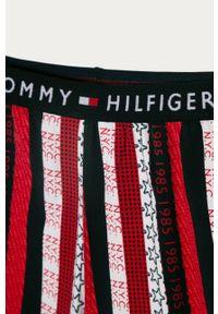Wielokolorowa piżama TOMMY HILFIGER gładkie