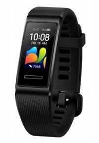 Czarny zegarek HUAWEI sportowy, cyfrowy