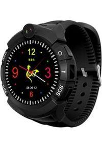 Smartwatch Art Watch Phone Kids Czarny (SMART SGPS-03BK). Rodzaj zegarka: smartwatch. Kolor: czarny