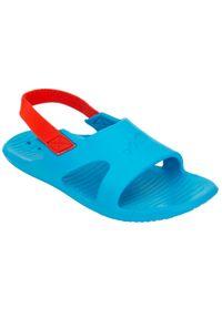 NABAIJI - Sandały Basenowe Dla Dzieci Nabaiji Slap 100 Basic. Kolor: turkusowy, niebieski, wielokolorowy