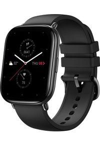 AMAZFIT - Smartwatch Amazfit Zepp E Square Czarny (xiaomi_20201027120256). Rodzaj zegarka: smartwatch. Kolor: czarny