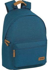 Niebieski plecak na laptopa
