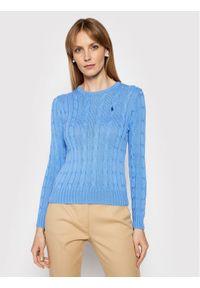 Niebieski sweter klasyczny Polo Ralph Lauren polo