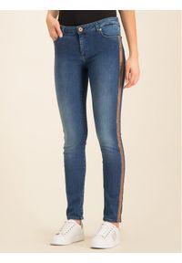 Niebieskie jeansy Trussardi Jeans
