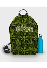 MegaKoszulki - Plecak fullprint Love Weed. Materiał: materiał. Wzór: nadruk