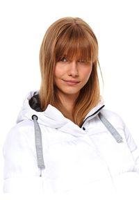Biała kurtka TOP SECRET krótka