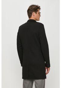 Czarny płaszcz Only & Sons bez kaptura, casualowy, na co dzień