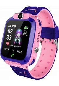 Różowy zegarek NoName smartwatch #1