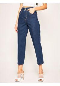 Niebieskie jeansy slim Versace Jeans Couture