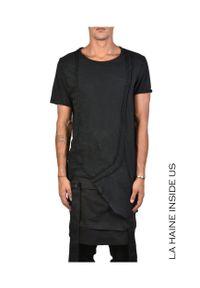 """La Haine Inside Us T-shirt """"Shuko"""". Materiał: tkanina. Długość: długie. Wzór: aplikacja"""