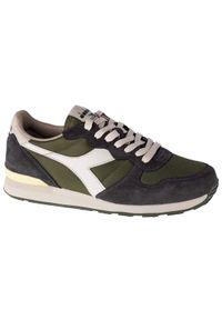 Zielone sneakersy Diadora z cholewką