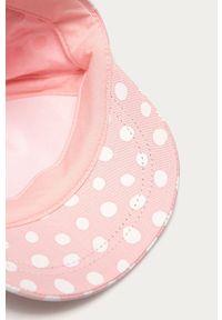 Różowa czapka z daszkiem OVS z motywem z bajki
