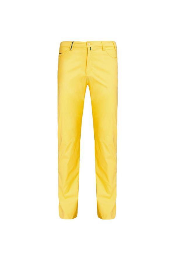 Chervo - Spodnie CHERVO SKIANTD. Kolor: żółty. Materiał: tkanina. Wzór: aplikacja. Sezon: lato