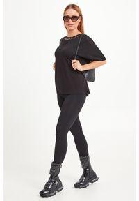 T-shirt Trussardi Jeans casualowy, na co dzień, w kolorowe wzory
