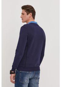Niebieska bluza nierozpinana Lyle & Scott na co dzień, casualowa, gładkie