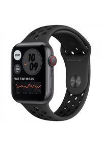 Czarny zegarek APPLE smartwatch, klasyczny