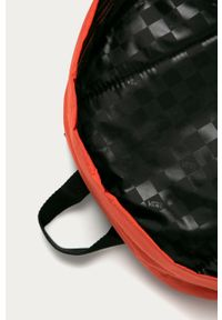 Vans - Plecak. Kolor: pomarańczowy. Materiał: materiał, nylon, poliester. Wzór: gładki #5