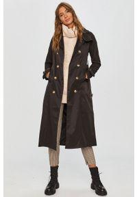Czarny płaszcz Answear Lab bez kaptura, wakacyjny, na co dzień #6