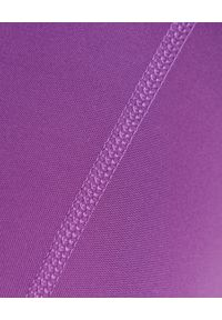 GIRLFRIEND COLLECTIVE - Lawendowe leginsy 7/8. Stan: podwyższony. Kolor: różowy, fioletowy, wielokolorowy. Materiał: tkanina, poliester. Wzór: ze splotem