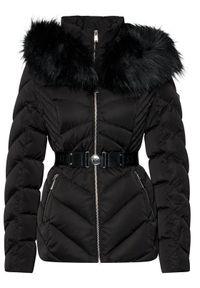 Czarna kurtka zimowa Guess