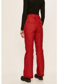 Czerwone spodnie sportowe columbia