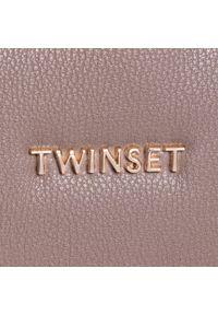 Brązowy plecak TwinSet elegancki