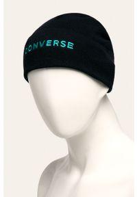 Niebieska czapka Converse
