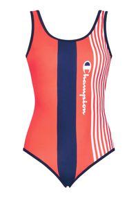 Champion Strój kąpielowy Graphic Stripe Logo 113109 Czerwony. Kolor: czerwony