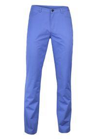 Niebieskie spodnie Ezreal casualowe, na co dzień